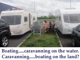 Caravaning v Boating