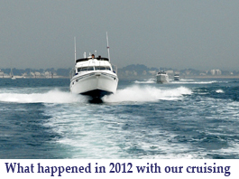 What happened in 2012 with our cruising button